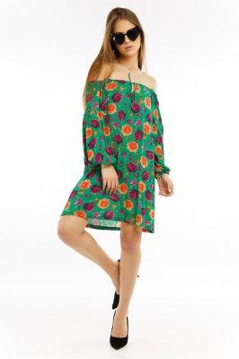 Imagem - Vestido Ciganinha Estampado Floral