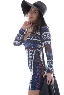 Imagem - Vestido com Decote