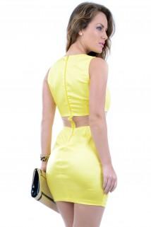 Imagem - Vestido com Recortes