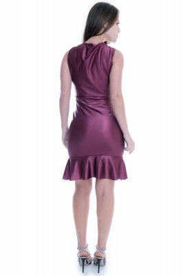 Imagem - Vestido de Cirre com Decote