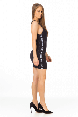 Imagem - Vestido em Jacquard com Elástico