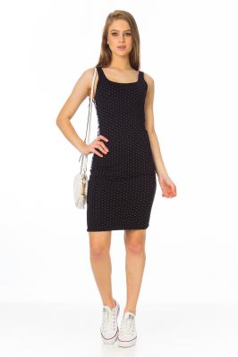 Imagem - Vestido em Jacquard com Faixa Lateral