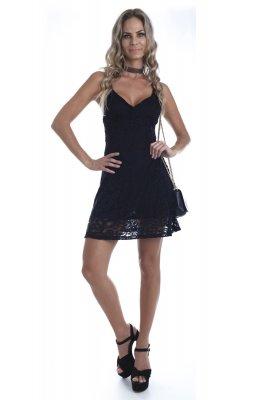 Imagem - Vestido em Renda de Alcinha
