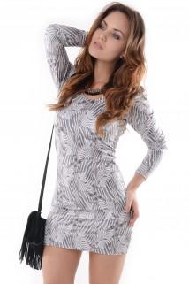 Imagem - Vestido Estampa de Zebra