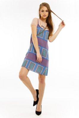 Imagem - Vestido de Alcinha Estampado