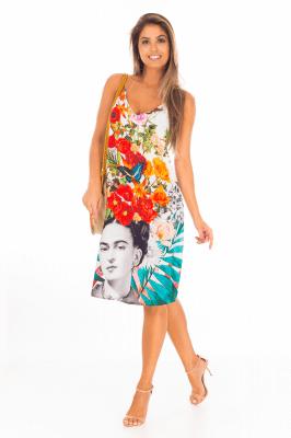 Imagem - Vestido Estampado Frida
