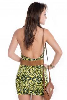 Imagem - Vestido Frente Única Estampado
