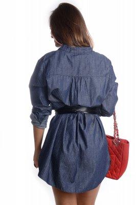 Imagem - Vestido Chemise Curto