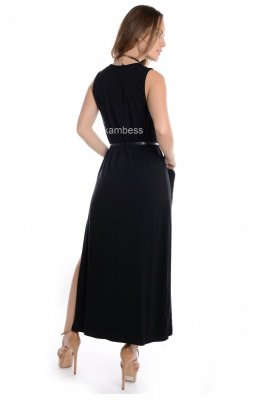 Imagem - Vestido Regata Longo com Estampa