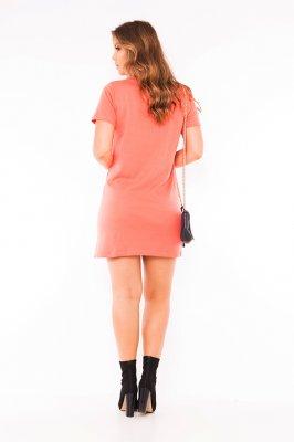Imagem - Vestido Moletinho com Patches e Lettering