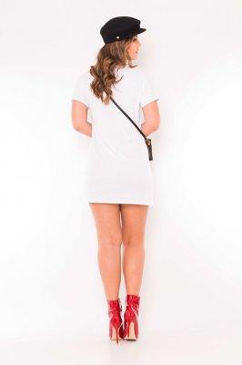 Imagem - Vestido Moletinho com Ilhoses