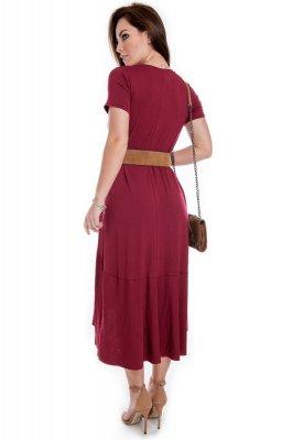 Imagem - Vestido Mullet de Viscolycra
