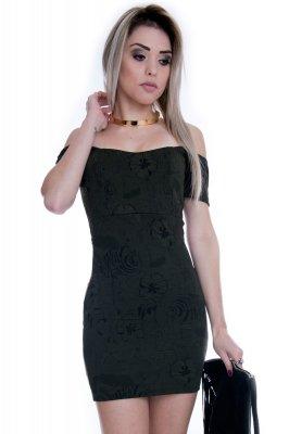 Imagem - Vestido Ombro à Ombro