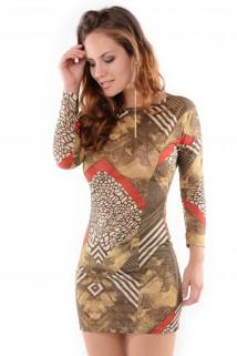 Imagem - Vestido Recortes