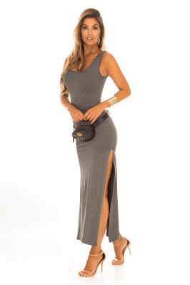 Imagem - Vestido Regata com Fenda