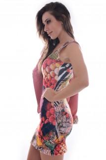 Imagem - Vestido Regata Estampado