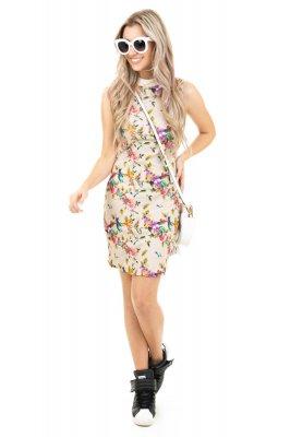 Imagem - Vestido Regata Estampado Floral
