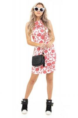 Imagem - Vestido Regata Floral Ajustado
