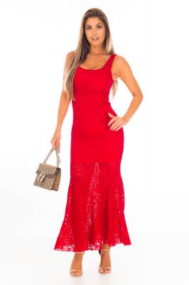 Imagem - Vestido Sereia em Renda
