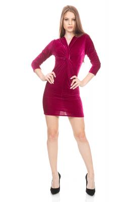 Imagem - Vestido Velvet Detalhe Torcido