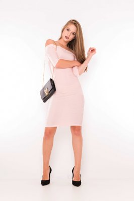 Imagem - Vestido Velvet Ombro a Ombro