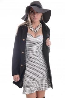 Imagem - Vestido Xadrez com Bojo