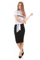 T-shirt com Estampa e Amarração 2