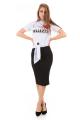 T-shirt com Estampa e Amarração 5
