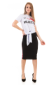 T-shirt com Estampa e Amarração 6