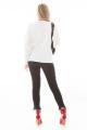 Blusa de Tricô com Barra Assimétrica 4