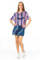 Blusa Listrada com Estampa Frontal 5