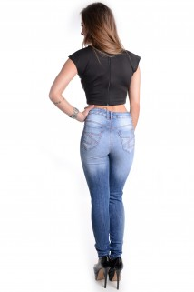 Calça Jeans Cintura Alta 2