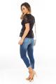 Calça Jeans com Barra Irregular 4