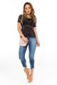 Calça Jeans com Barra Irregular 2