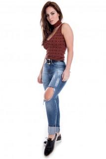 Calça Jeans Destroyed 32ec6201530