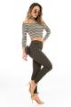 Calça Jeans Skinny Hot Pants 3