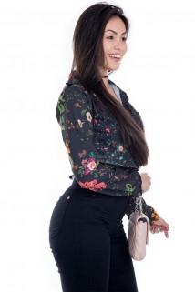 Camisa com Estampa Floral 2