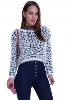 Suéter Feminino de Pelinhos