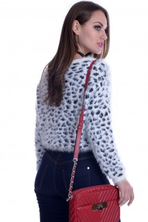 Suéter Feminino de Pelinhos 2