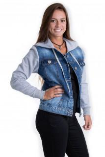 Jaqueta Jeans com Capuz 4