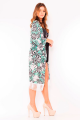 Kimono Floral com Franjas 3