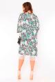 Kimono Floral com Franjas 4