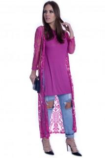 Kimono Long de Renda 3