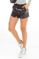 Shorts Camuflado em Moletinho