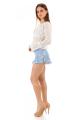 Shorts Estampado Floral com Babado 3