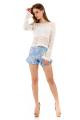 Shorts Estampado Floral com Babado 5