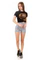 Shorts Hot Pants Estampado 5