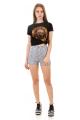 Shorts Hot Pants Estampado 2