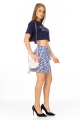 T-shirt Cropped com Lettering 3