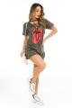 T-shirt Dress Camuflado com Detalhe Trançado 2
